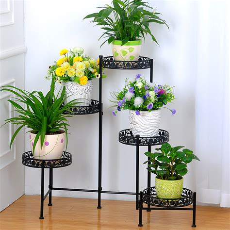 Plant Holder - metal plant holder wrought iron plant stands flower