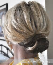 easy hair updos medium length