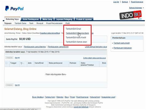 cara membuat akun paypal dengan bank mandiri cara tarik cara mendaftar dan membuat akun paypal blog bisnis