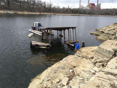boat dock removal boat dock removal herrington lake kentucky area
