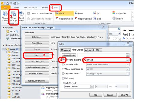 Search For Unread Emails In Outlook Solved How To View Unread Messages In Outlook 2010 Up