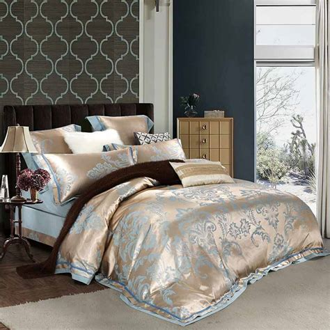 white and gold comforter online get cheap white gold bedding aliexpress com