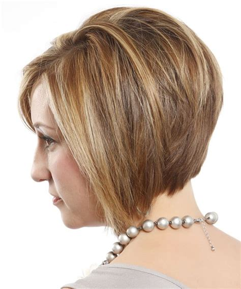 back side bob cut short layered bob hairstyles back view hair pinterest
