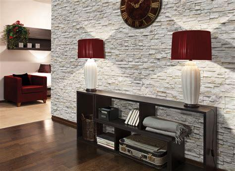 wohnzimmer steinwand steinwand im wohnzimmer wanddeko mit verblendsteinen
