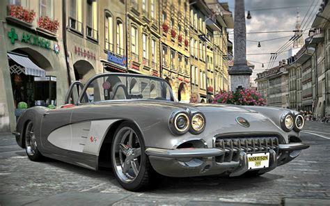 vintage corvette for 1958 vintage corvette wallpaper 2880x1800 15744