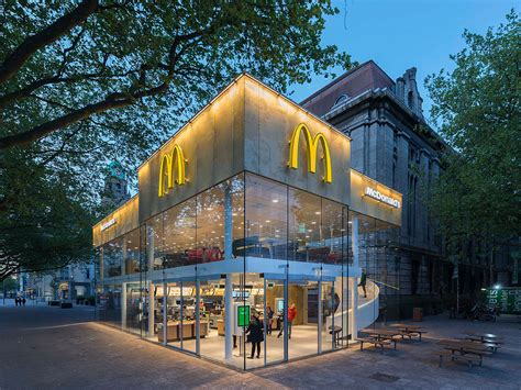 apple netherlands mcdonald s in rotterdam designed by mei architecture