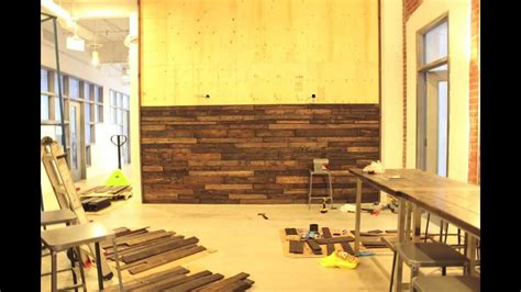 what are walls made of wall made from reclaimed pallet wood youtube