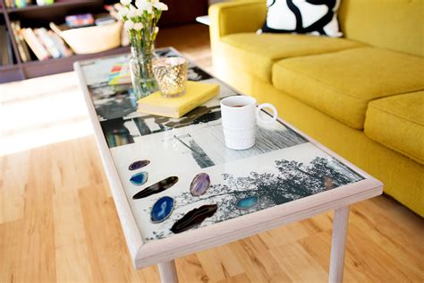 diy wooden coffee table a beautiful mess diy epoxy resin coffee table a beautiful mess