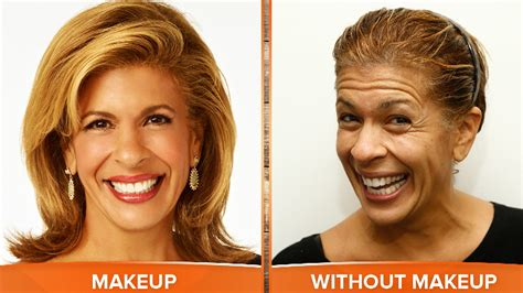 hair cuts on the today show today anchors and you dare to bare on no makeup monday