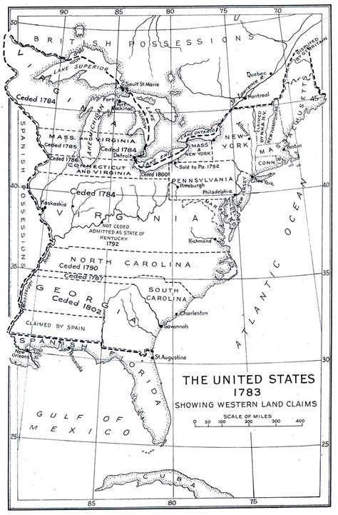 united states map history united states map 1783 looking back at history maps