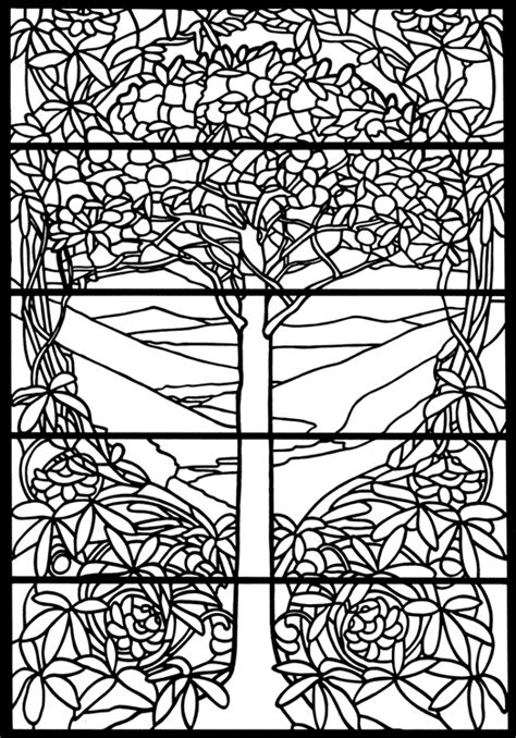 color pattern trees tiffany glass patterns 171 free patterns