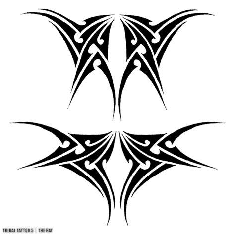 tribal bat tattoo design of tribal bats tattoos book 65 000