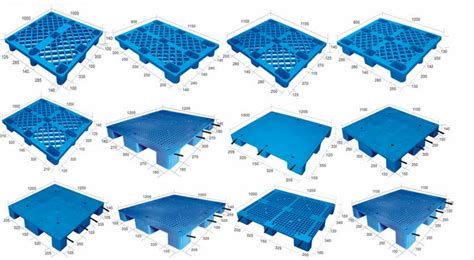 1210 Euro Hdpe Anti Friction Injection Mold Plastic Pallet