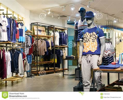home design clothing shop clothes store editorial