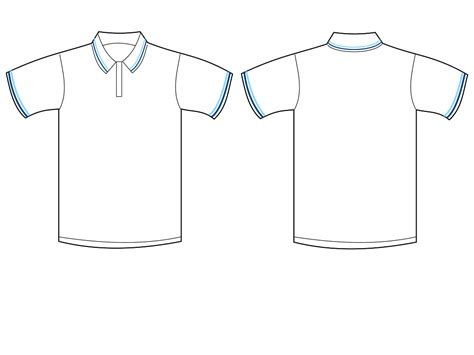 polo shirt outline cliparts co