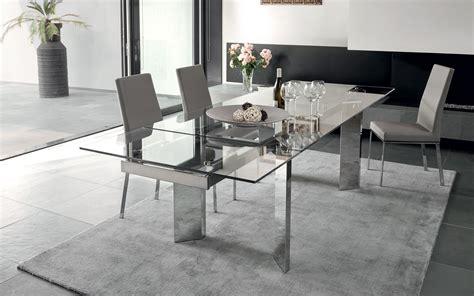 piano vetro per tavolo tavolo calligaris tower piano extrachiaro