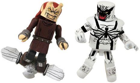 Venom Marvel Figure Mini Mates minimates marvel menace and anti venom 2 pack spider in ebay