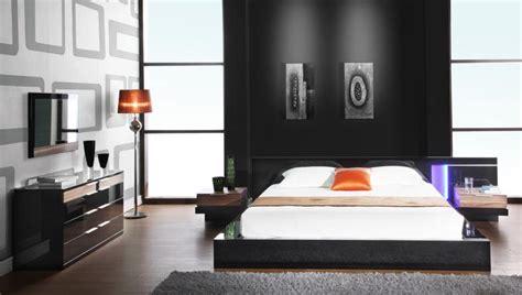 Alaska Night Modern Black Lacquer Bed Black Design Co Alaska Bedroom Furniture