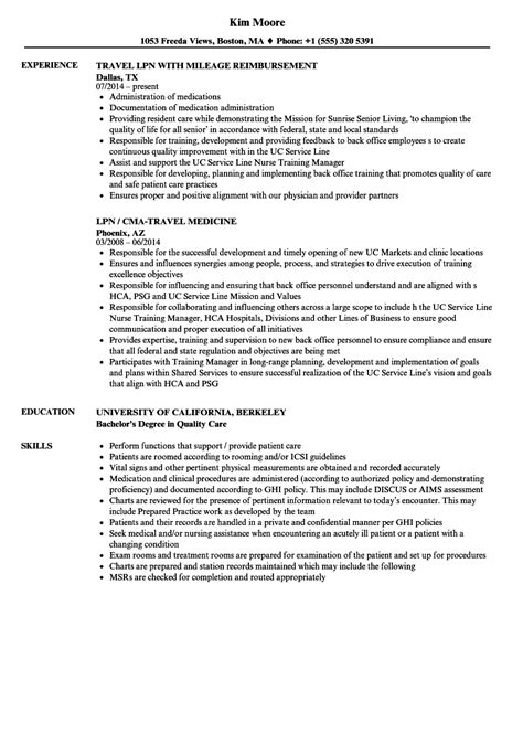 Lpn Sle Resume by Free Lpn Description Nursing Home Resume