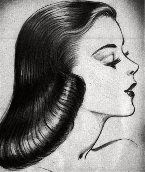 drawings of 1950 boy s hairstyles 1940s hairstyles for women newhairstylesformen2014 com