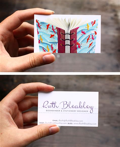 book business card template business cards that look like a book gallery card design