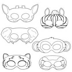 jungle animal mask templates jungle animals coloring masks monkey mask elephant mask