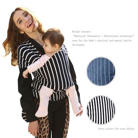 Gendongan Bayi Wrap Murah tas gendongan bayi baby wrap sling carrier black