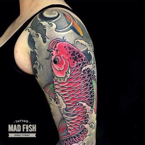 tattoo koi zaragoza japanese fish tattoo tatuajes tatuaje japon 233 s y brazos