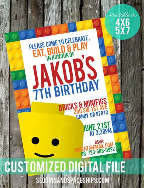 lego birthday invitations everything is awesome it s a lego b lovely events