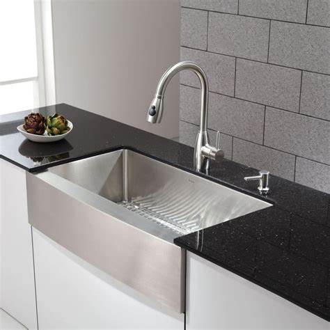 Kraus Kitchen Sinks kraus khf200 36 kitchen sink build