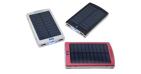 Power Bank Solar 85000 Mah solar power bank hg 6000 mah usb power bank charger