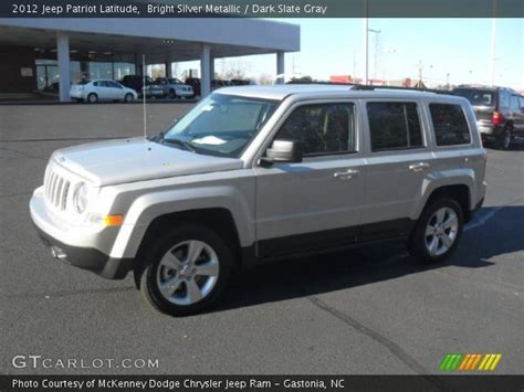 silver jeep patriot interior bright silver metallic 2012 jeep patriot latitude