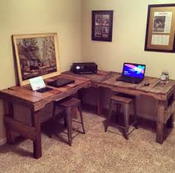 Diy Desk L Great Diy Pallet Farm Table Desk