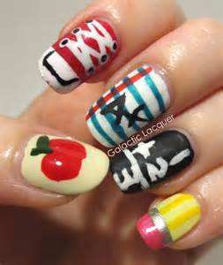 color my nails school 10 back to school nail designs