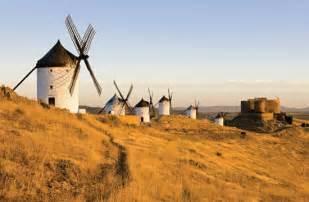 La Mancha Castile La Mancha Windmills In Consuegra
