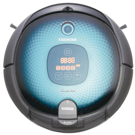 Vacuum Cleaner Toshiba toshiba smarbo ready to take on the roomba