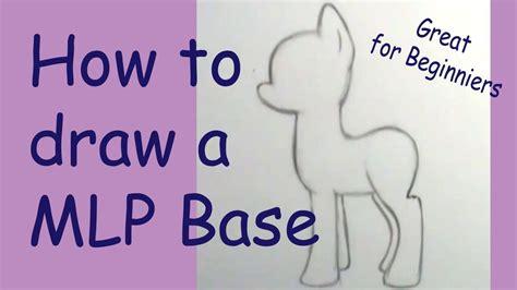 Tempat Pensil Pony Friends Kid how to draw a my pony basic