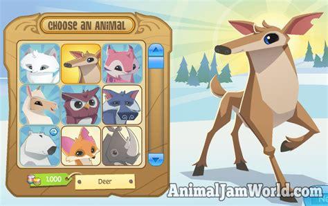 Jam World animal jam deer codes animal jam world