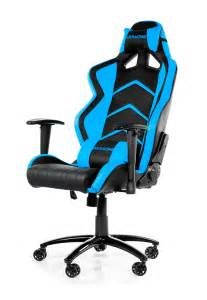 Best Gaming Desk Chair Akracing Player Gaming Chair Blue
