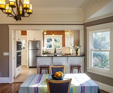 craftsman open layout google search dining room