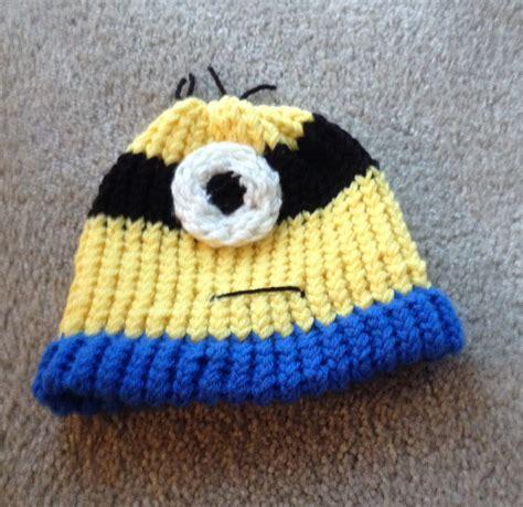 minion knit hat minion knit hat by lishachan on deviantart