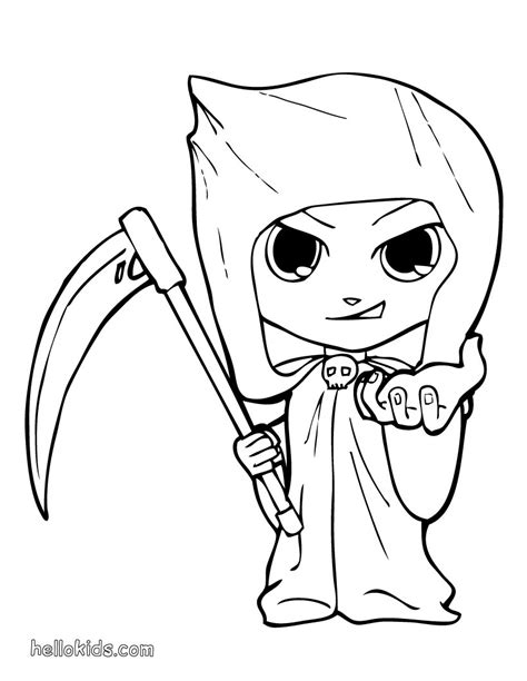 halloween characters coloring pages glum me