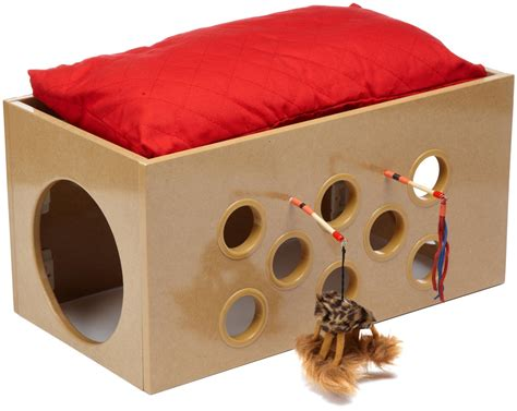 bed for cats smartcat bootsie s bunk bed and playroom for cats