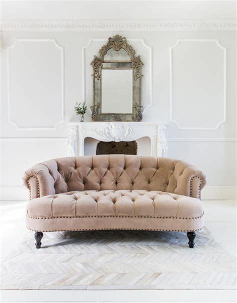 pink velvet sofa chablis roses blush pink velvet chesterfield sofa