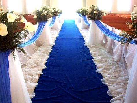 stylish wedding chapel decoration 2012