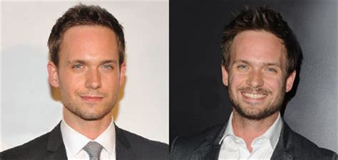 patrick j adams haircut the male stars in suits impress with modern crew cuts