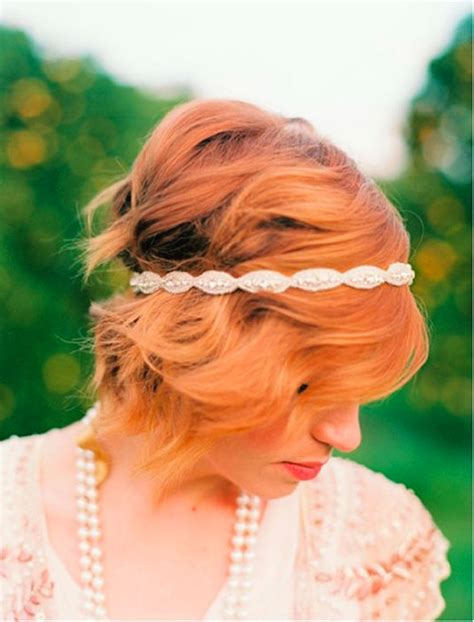 bridal hairstyles for red hair 20 short wedding hair ideas short hairstyles 2017 2018