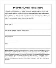 photo release form template for children photo release form template 9 free pdf documents