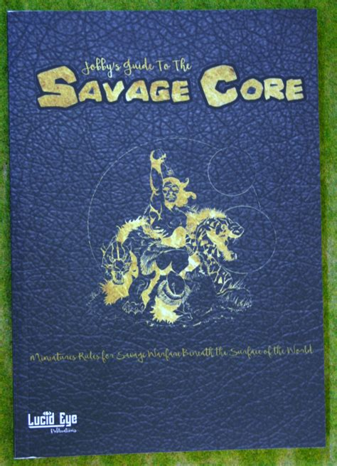 Lu Hid Eye savage pulp skirmish gaming rule book lucid eye publications arcane scenery and models