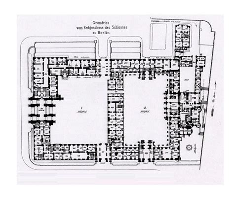 royal palace floor plans royal palace berlin 1933 ground floor plan floor
